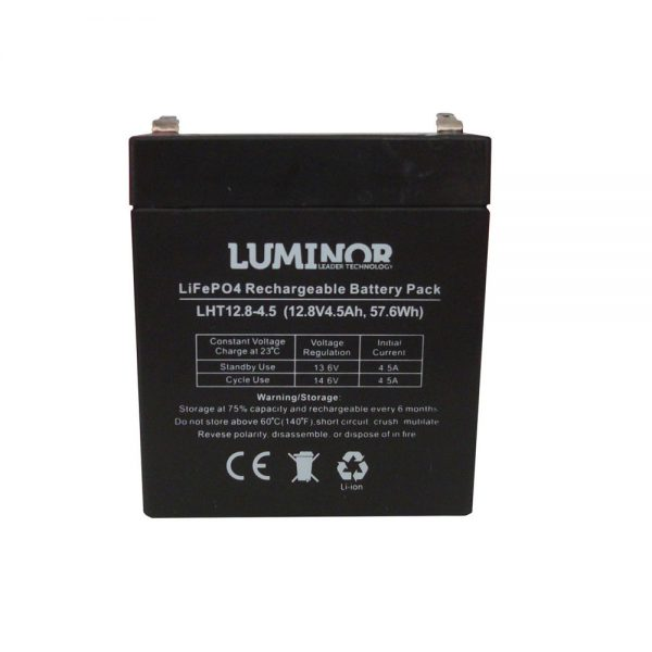 Batterie al Litio by Luminor